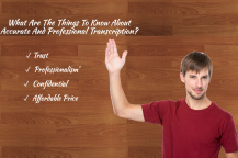 A Guide to Transcription Services
